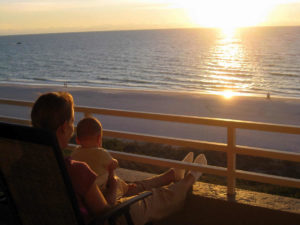 Somerset 601 Condo Rental- Sunset on the Gulf of Mexico